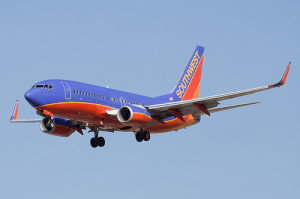 image of a southwest airlines plane