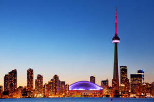 image of the Toronto Inner Harbour Tour boat cruise one of the affordable toronto city tours