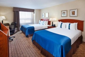 image of the Holiday Inn & Suites Ottawa Kanata one of the cheapest hotels located near the Canadian Tire Centre