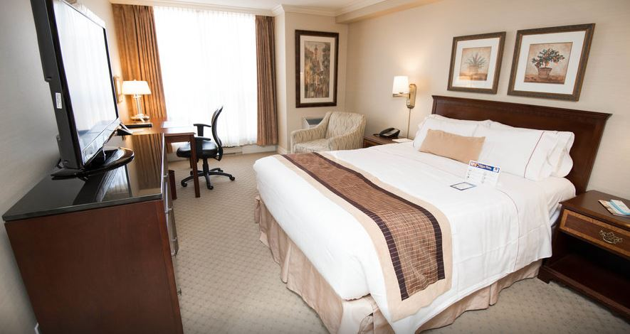 image of the Best Western Plus Victoria Park Suites hotel one of the cheap places to stay in ottawa