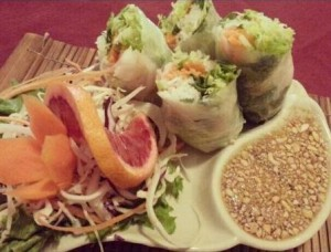 image of food from Khao Thai one of the best, affordable restaurants in the Byward Market in Ottawa