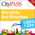 image of the CityPASS logo one of the attraction passes you can use to save money when planning a cheap vacation