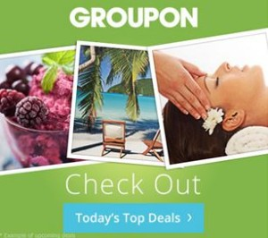 image of Groupon one of the ways to save when you are planning a cheap vacation