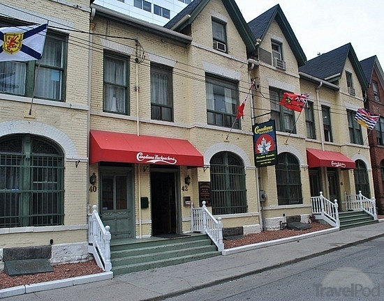 image of the Canadiana Backpackers Hostel one of the best affordable hostels in Toronto