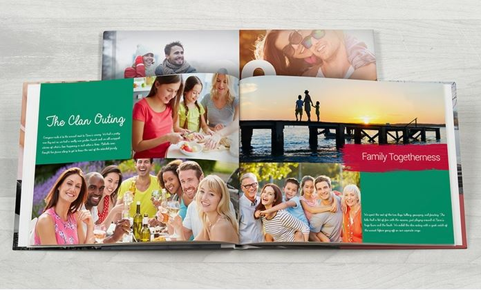 image of an up to 81% off custom photobook offer