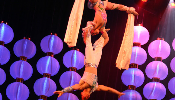 image of a cirque du soleil show one of the events listed on the Las Vegas events calendar