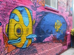 image of Graffiti Alley one of the fun, free things to do in Toronto