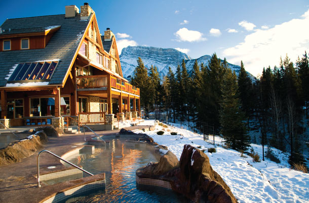 image of hideen ridge resort one of the best cheap hotels and places to stay in Banff alberta