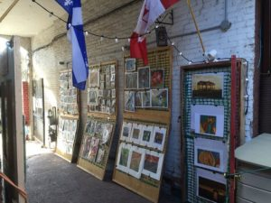 image of the affordable art available at martello alley one of the free things to do and attractions in Kingston, Ontario