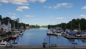 image of the Picton Harbour one of the free, cheap, fun things to see when visiting Prince Edward County, Ontario