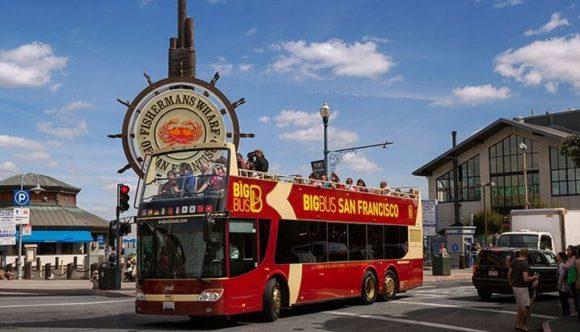image of the Big Bus San Francisco Hop-on Hop-off Bus Tour