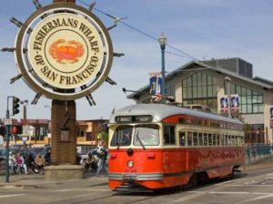 image of Fisherman's Wharf one of the stops on the Big Bus San Francisco 2-day Deluxe Ticket hop-on Hop-off bus tour