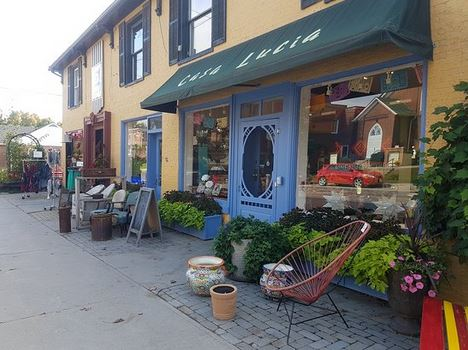 image of some of the shop in Bloomfield one of the free, cheap and fun things to do in Prince Edward County