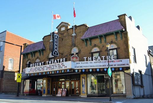 image of the regent theatre one of the free, cheap and fun things to see and do in Prince Edward County