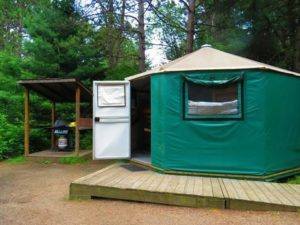 algonquin provincial park yurt an affordable place to stay when you go moose watching