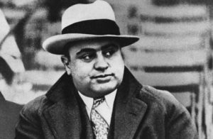Al Capone, one of the notorious gangsters you can learn about by taking a Chicago Gangster Tour, one of the fun things to do in Chicago