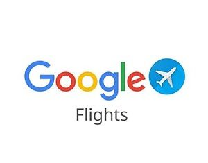 logo for Google Flights one of the ways to plan a cheap winter getaway